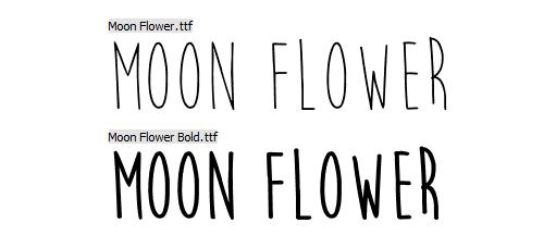 Fonts - Font faces   Ambient Impact