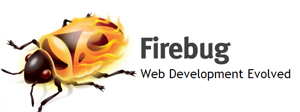 The Firebug logo: a stylized beetle with an orange, flaming carapace.