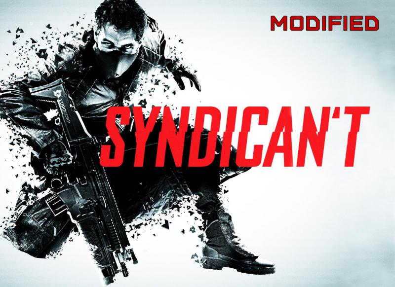"Syndicate promotional image, with the logo reworded to spell ""Syndican't"""